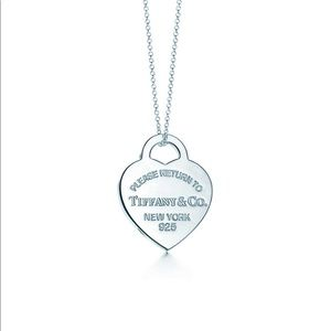 "Tiffany & Co Return to Tiffany ""Heart Tag Pendant"""